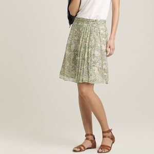 J.Crew Soiree Skirt in Teaberry Floral Silk 44362